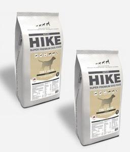 2x12 kg HIKE Diæt - Kornfrit og Dansk